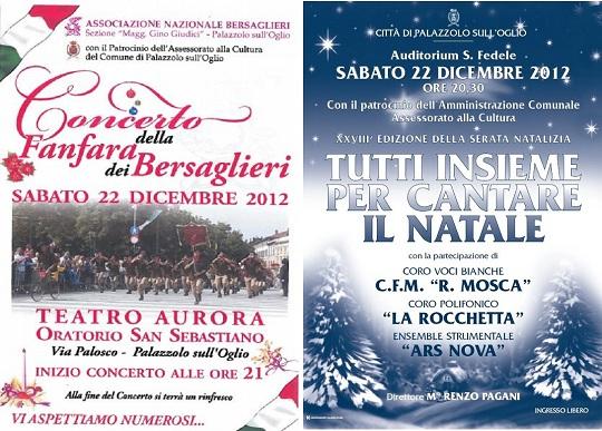 Concerti a palazzolo 22-12-2012