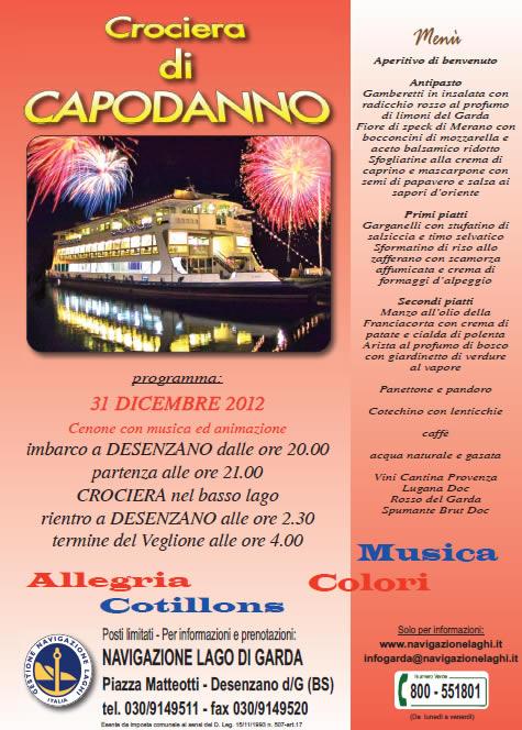 Crociera di Capodanno Lago di Garda