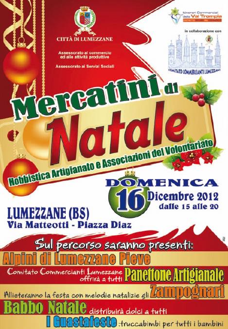 Mercatini di Natale a Lumezzane