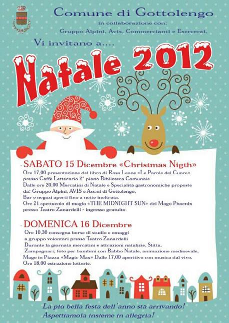 Natale 2012 a Gottolengo