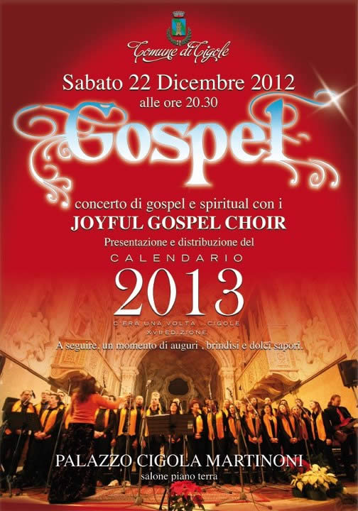Natale in Gospel a Cigole