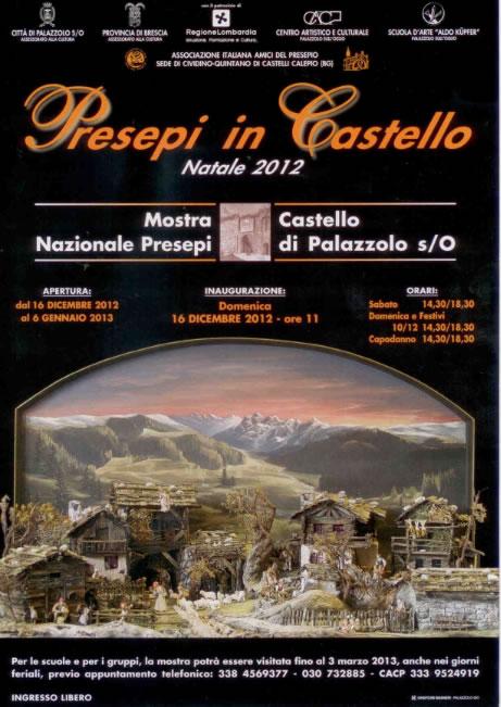 Presepi in Castello a Palazzolo S.O