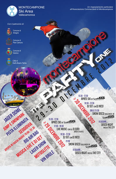 The Party One a Montecampione