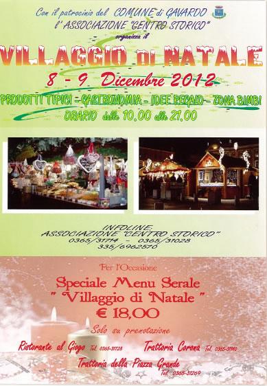 Villaggio di Natale a Gavardo