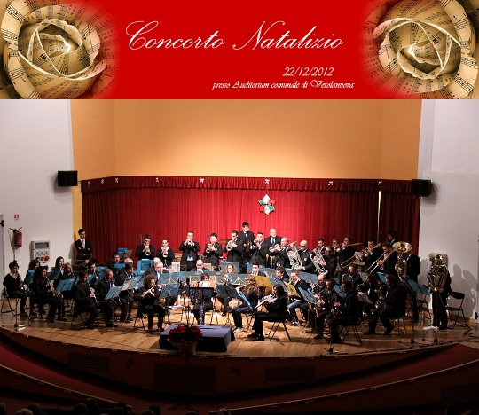 Concerto di Natale a Verolanuova complesso bandistico Stella Polare