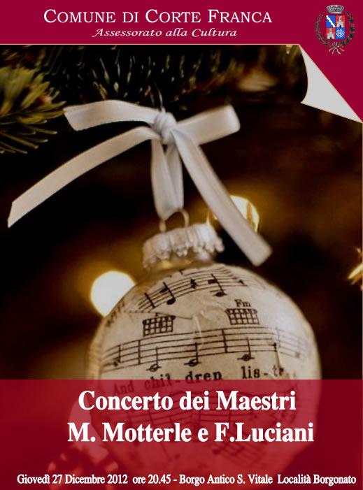 concerto di Natale a Cortefranca