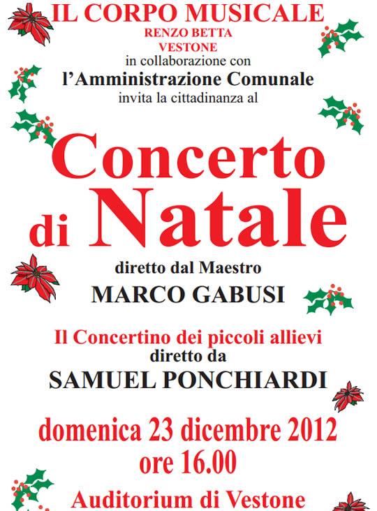 concerto di Natale a Vestone