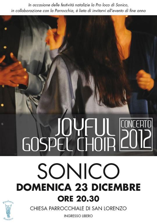 concerto gospel a Sonico