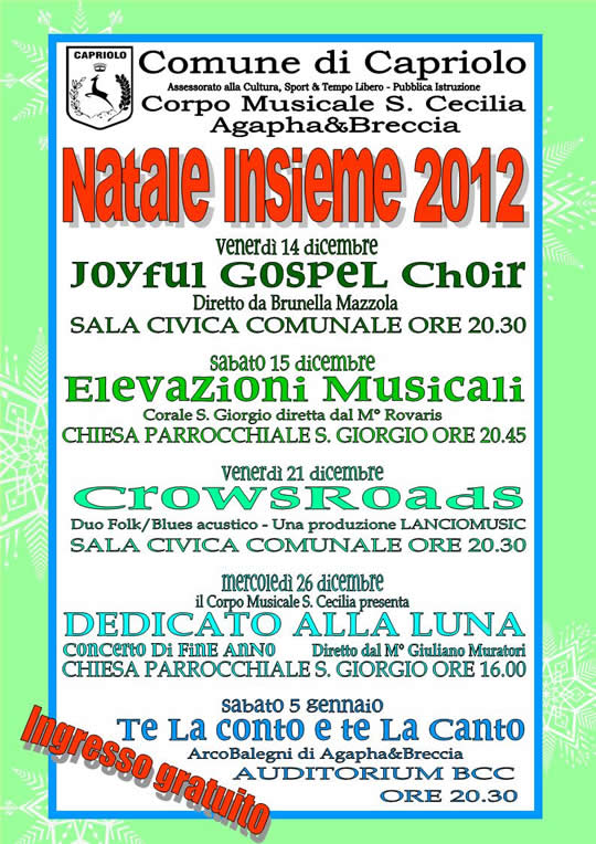 Natale a Capriolo 2012