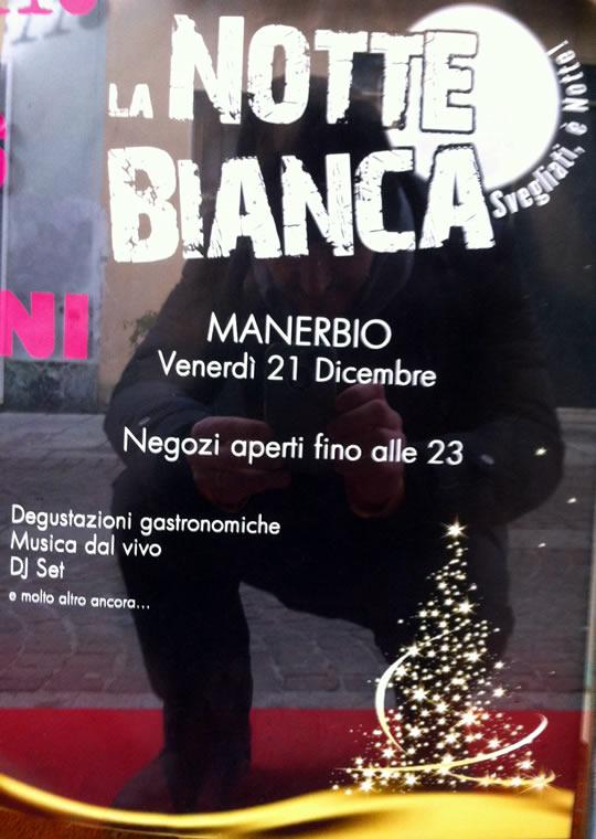 notte bianca a Manerbio
