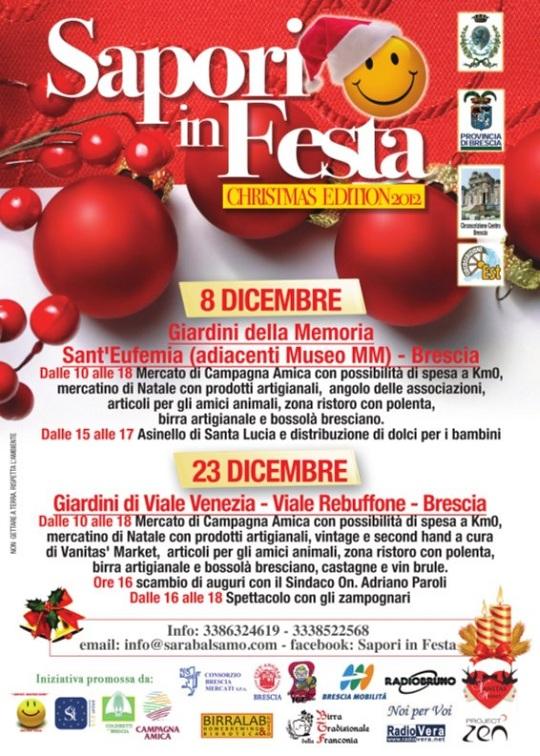sapori in festa BRESCIA 23 dicembre 2012
