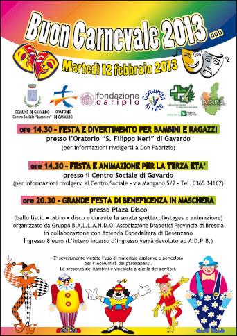 Buon Carnevale 2013 a Gavardo