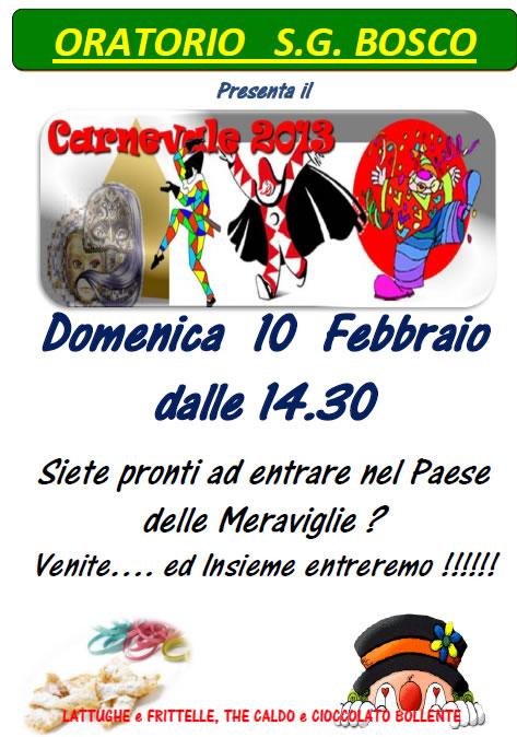 Carnevale 2013 a Borgosatollo