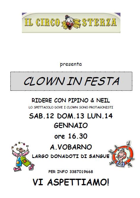 Clown in Festa a Vobarno