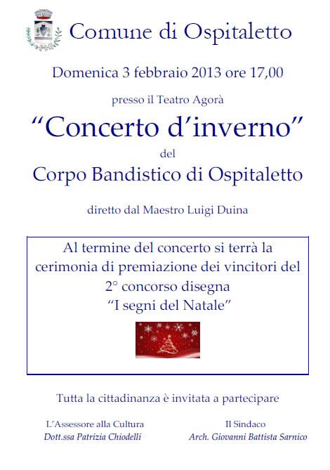 Concerto d'Inverno a Ospitaletto