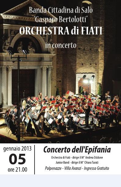 Concerto dell' Epifania a Polpenazze
