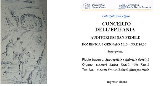 Concerto dell'Epifania a Palazzolo