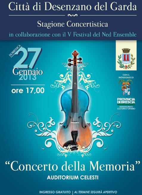 Concerto della Memoria a Desenzano