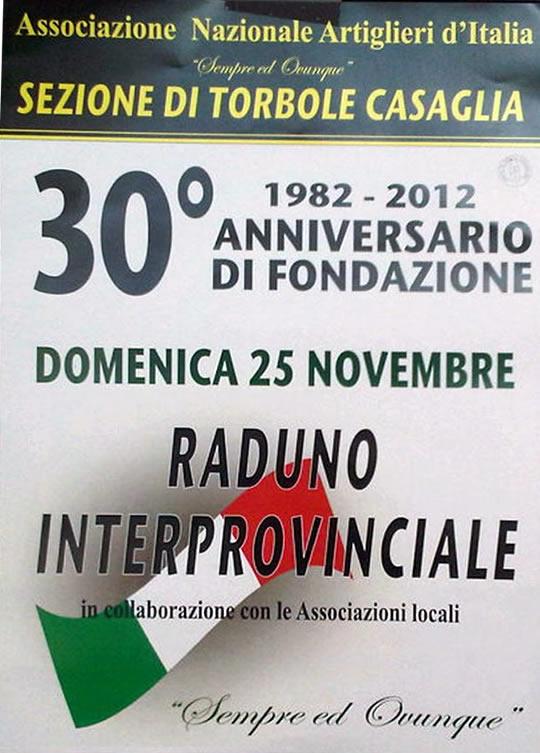raduno provinciale a Torbole Casaglia