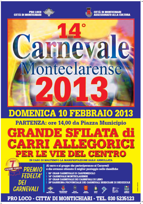 14 Carnevale Monteclarense