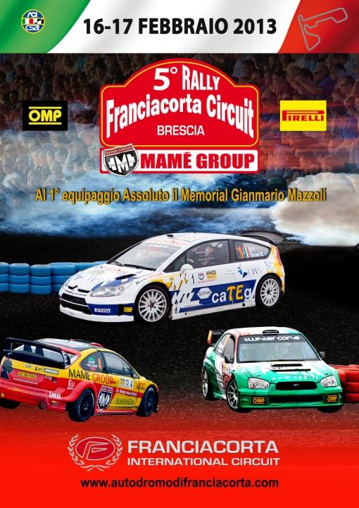5 Rally Franciacorta Circuit