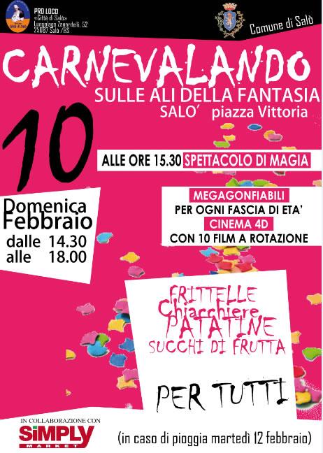 Carnevalando Sulle Ali Della Fantasia a Salò