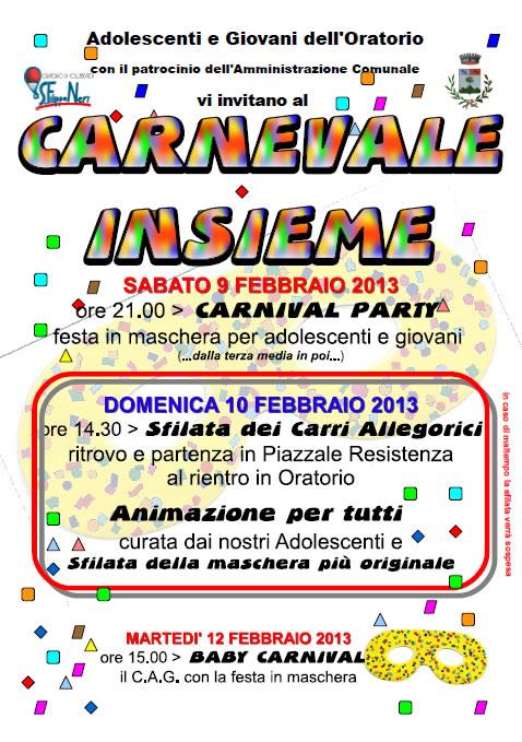 Carnevale Insieme a Collebeato