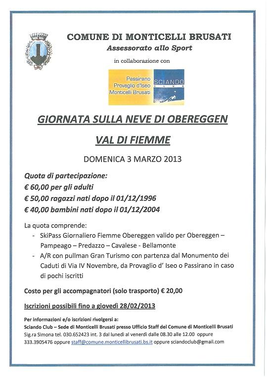Comune di Monticelli in gita a OBEREGGEN_03.03.2013