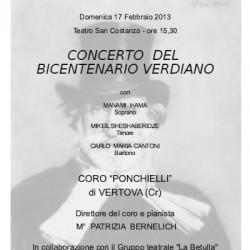 Concerto del Bicentenario Verdiano a Nave