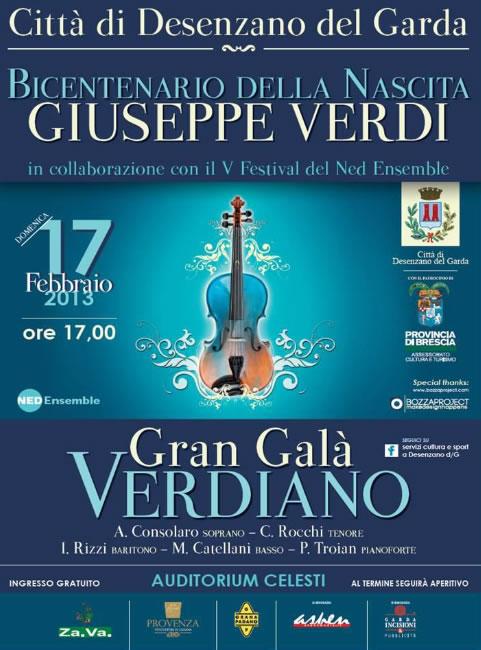 Gran Gala Verdiano a Desenzano