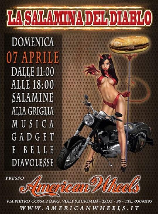 La Salamina del Diablo a Brescia 7-4-2013