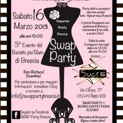 Swap party Brescia 16.3.2013