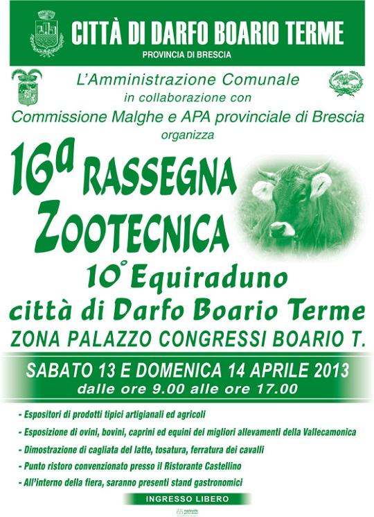 16 Rassegna Zootecnica e 10 equiraduno Darfo Boario Terme