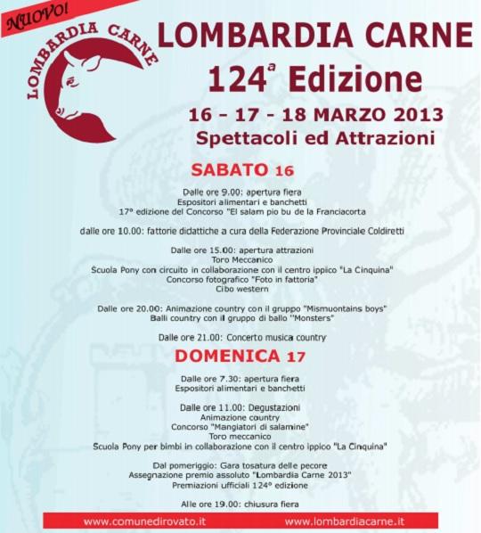 Lombardia Carne 2013