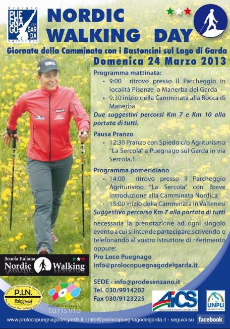 Nordic Walking Day a Puegnago