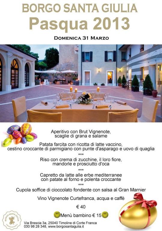 Pasqua 2013 al Borgo Santa Giulia