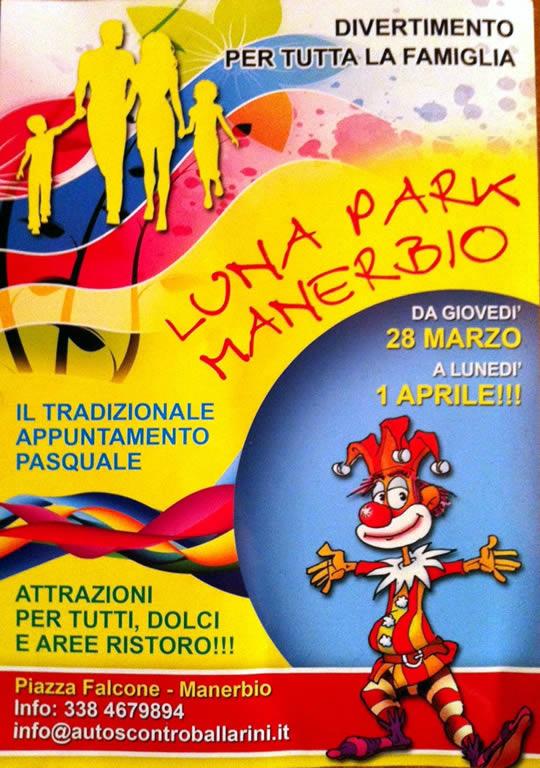 luna park a Manerbio