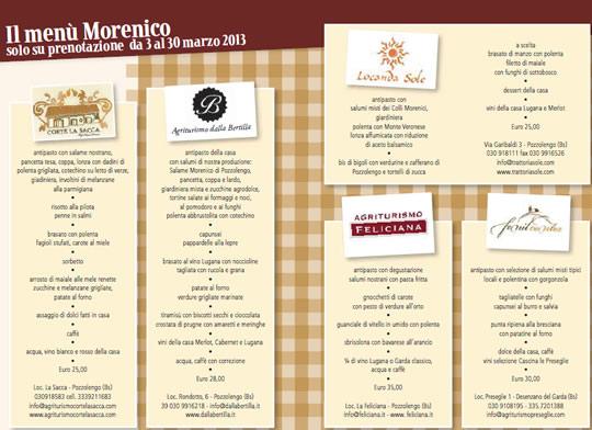 menu morenico
