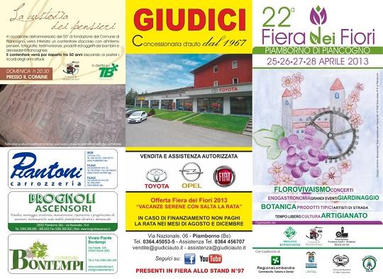 22 festa dei fiori Pianborno di Piancogno 25-26-27-28 Aprile 2013