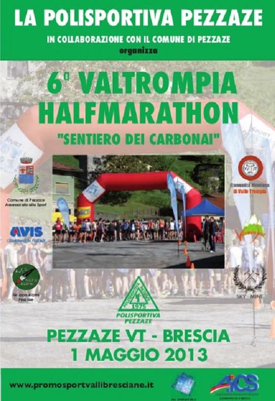 6 Valtrompia Halfmarathon Pezzaze 2013