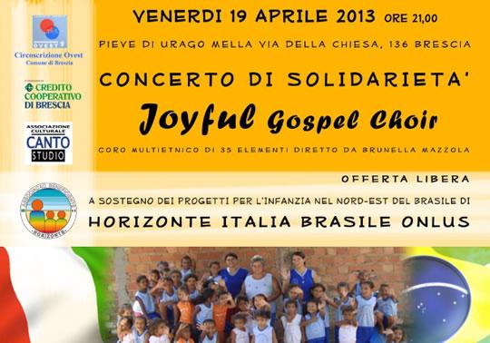 Concerto di Solidarieta a Pieve di Urago Mella