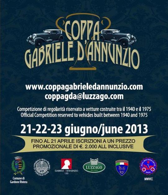 Coppa Gabriele D'annunzio 21-22-23  Giu 2013 - FB Eventi di successo