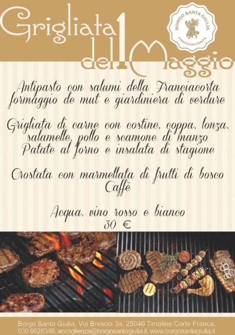 Grigliata Del 1 Maggio al Borgo S.Giulia