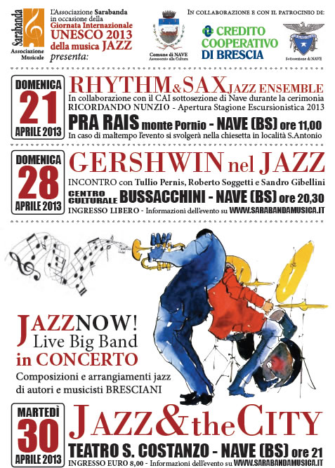 Jazz e The City a Nave