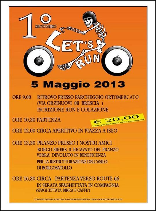 Let's Run 5-maggio-2013
