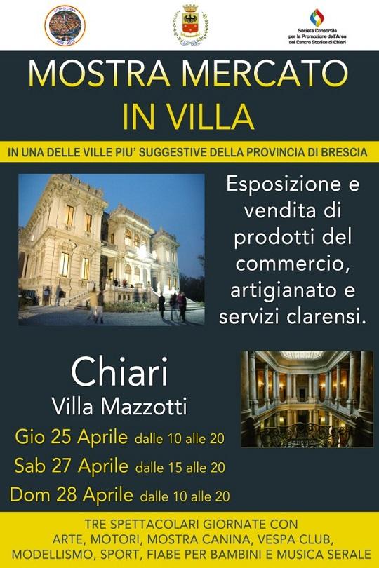 Mostra mercato in villa Chiari 25-27-28 Aprile 2013