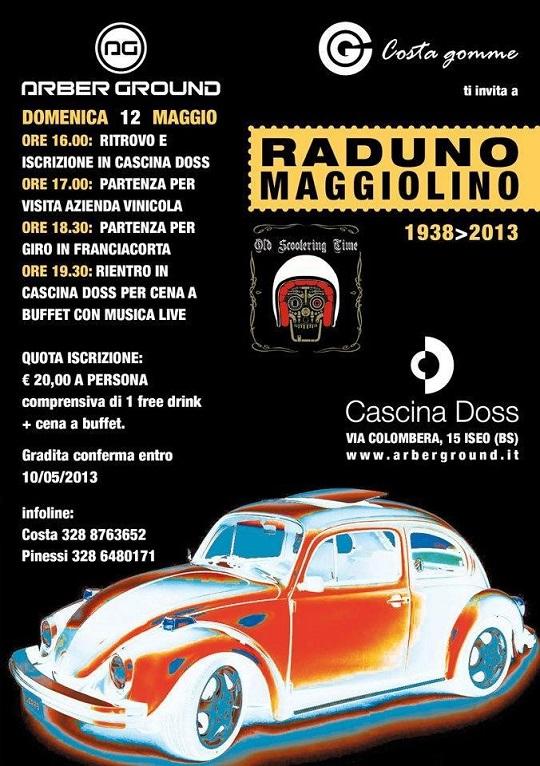 Raduno Maggiolino 2013 a Iseo