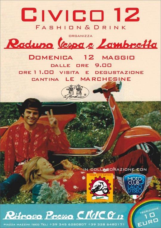 Raduno Vespa e Lambretta a Iseo 2013
