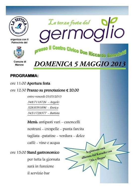 Terza Festa del Germoglio 2013 Marone