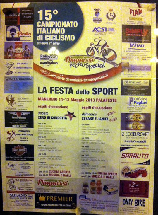 festa dello sport a Manerbio